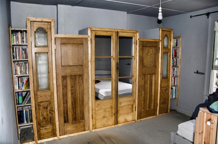 Vintage Doors Wardrobe 1