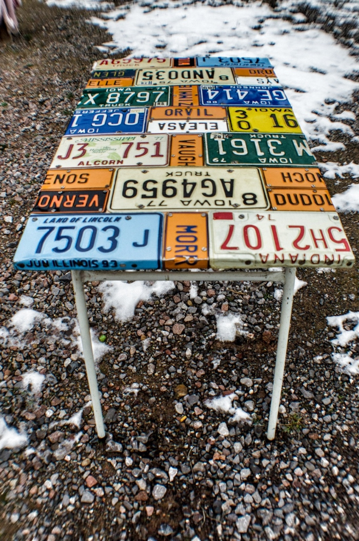 Number Plate Table 5