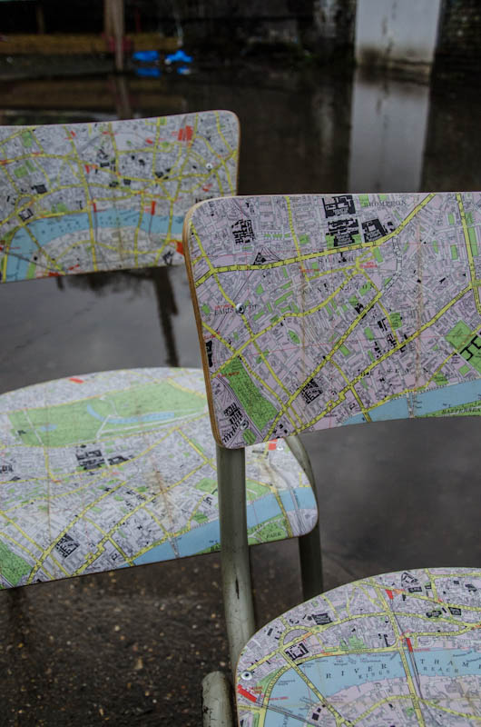 London Map Chair 1