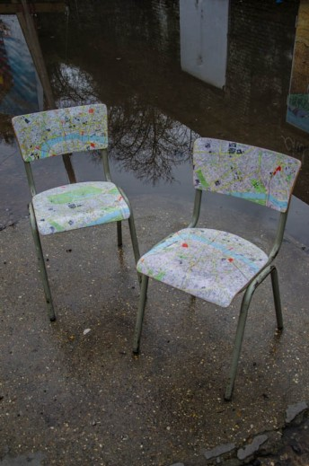 London Map Chair 2