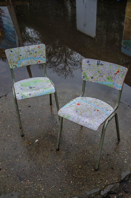London Map Chair 2