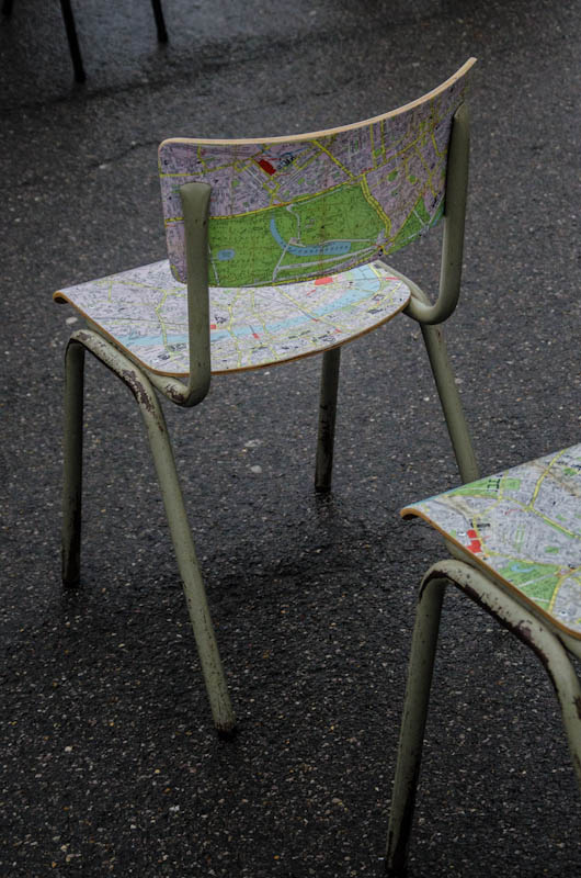 London Map Chair 4