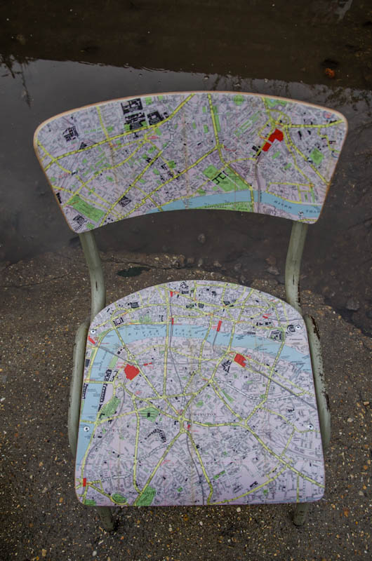 London Map Chair 5