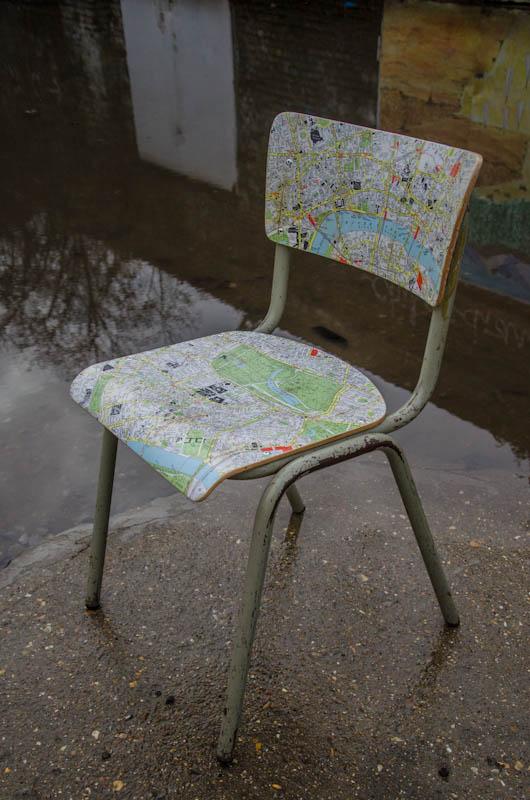 London Map Chair 6